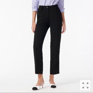 NWT J. Crew Tailored Easy Pant in 365 Crepe